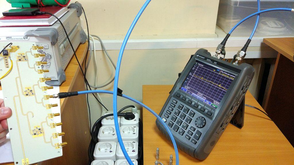 Измерение коэффициента передачи
